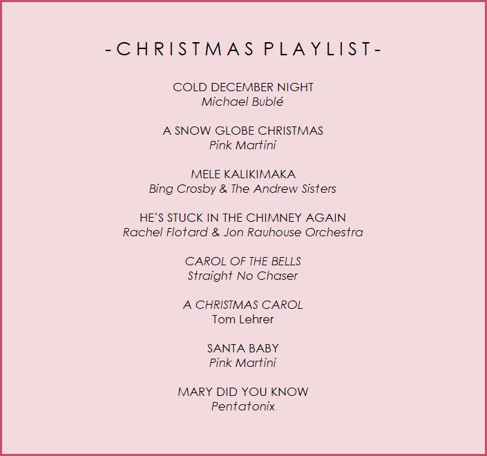 Christmas Day Playlist