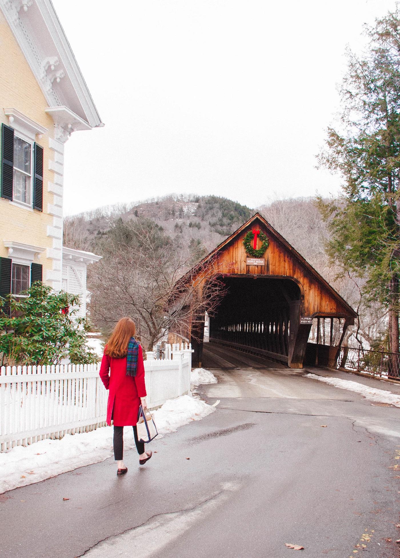 Walking in a Woodstock Winter Wonderland