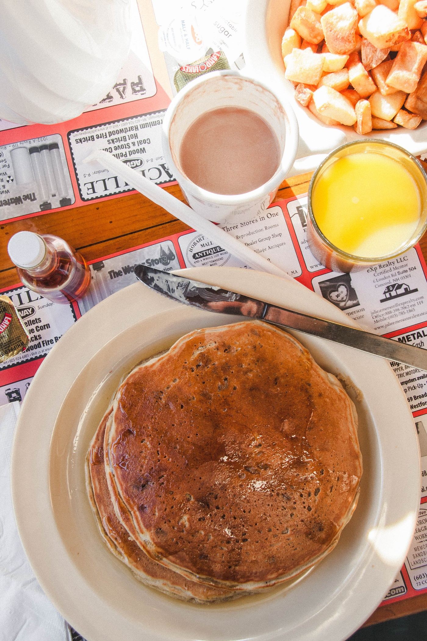 The Best Maple-y Breakfasts this NH Maple Season!